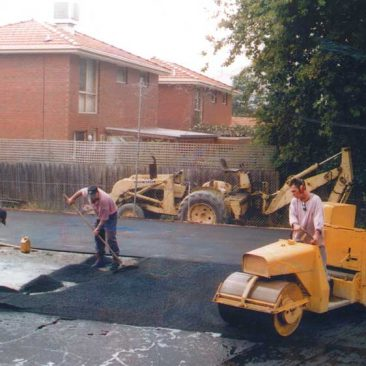 asphalt paving car park commercial