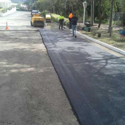 Asphalt paving road commercial.