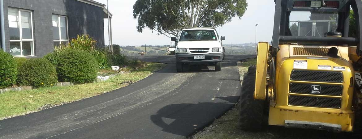 asphalt paving road-commercial