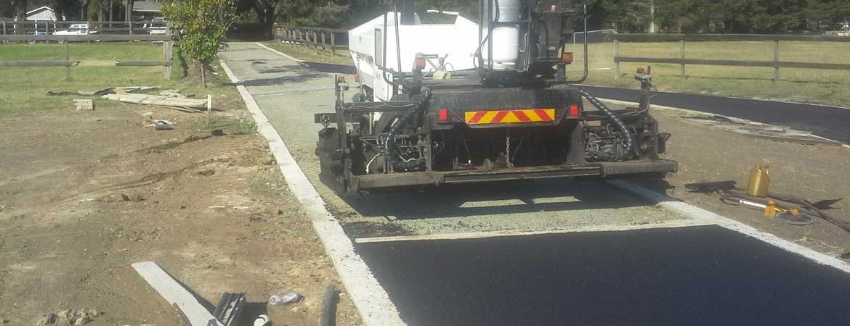 asphalt paving road commercial