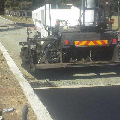 Asphalt paving road commercial.